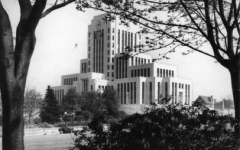 City Hall when it first opened, 1936 (City of Vancouver Archives)