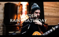 "HAYDEN PREMIERES ""RAINY SATURDAY"" VIDEO, BEGINS NORTH AMERICAN TOUR IN SUPPORT OF NEW ALBUM, US ALONE"