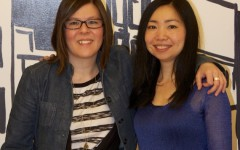 Jenny Yen (right) and Tabitha Savoie