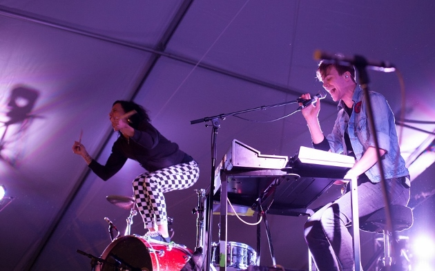 Matt and Kim - photo by Erik Lyon