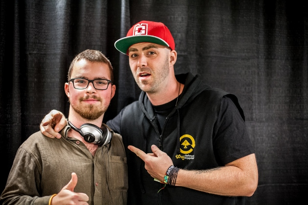 Vancouver Weekly's Thomas Creery and Classified - photo by Erik Lyon
