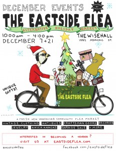 The Eastside Flea - December Holiday Market! @ The Wise Hall | Vancouver | British Columbia | Canada