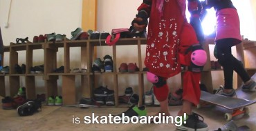 Skating + Education is a win for girls in Afghanistan
