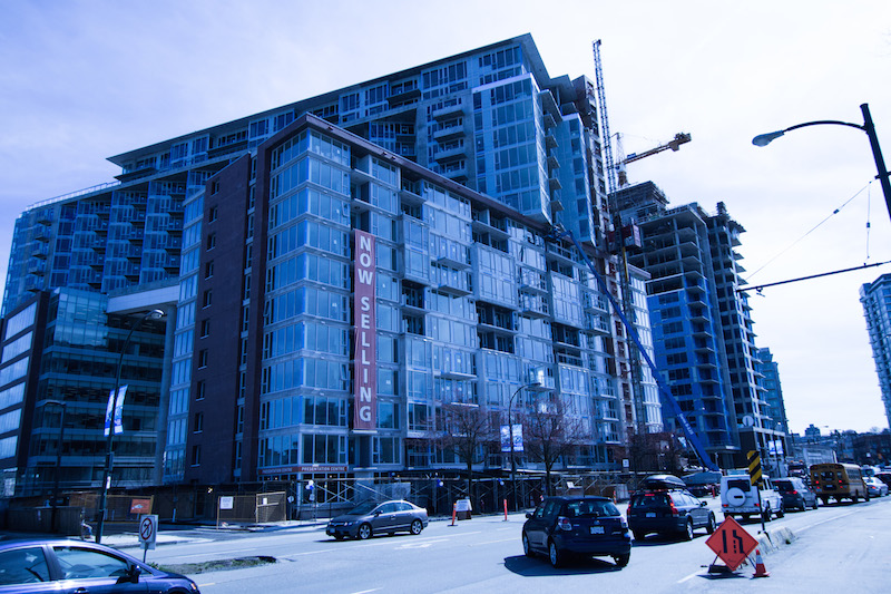 Condos for sale along Quebec St. near Terminal Station