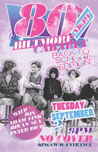 80s Night: Back 2 Skool Edition @ Biltmore Cabaret