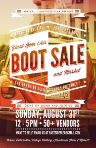 Giant Car Boot Sale! @ Olympic Village Sea Wall | Vancouver | British Columbia | Canada
