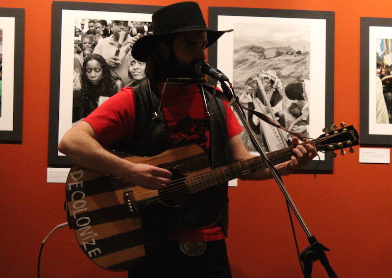 Ben Rogers performing Cowboys and Indians at Resistance Cabaret II