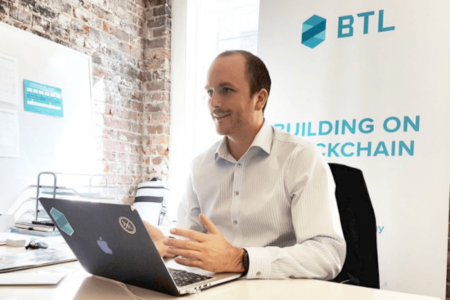 Guy Halford-Thompson, CEO of Blockchain Technology Ltd