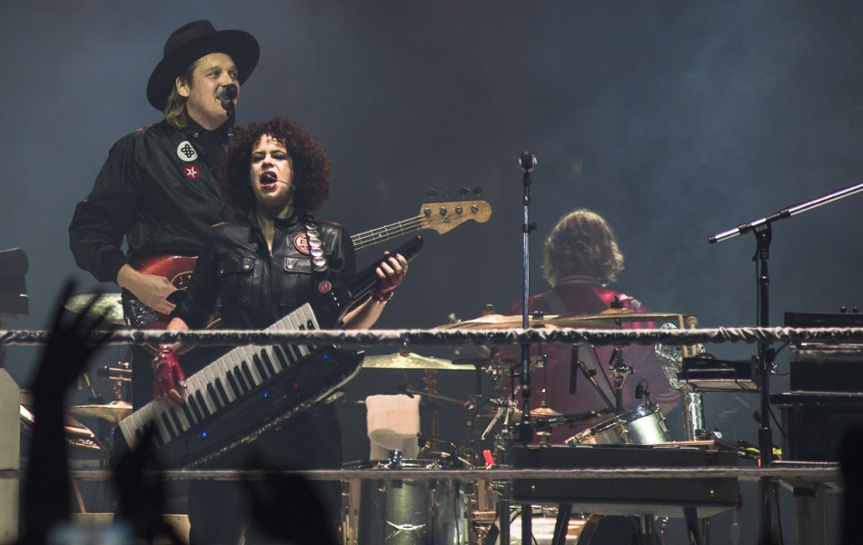 Arcade Fire @ Pacific Coliseum
