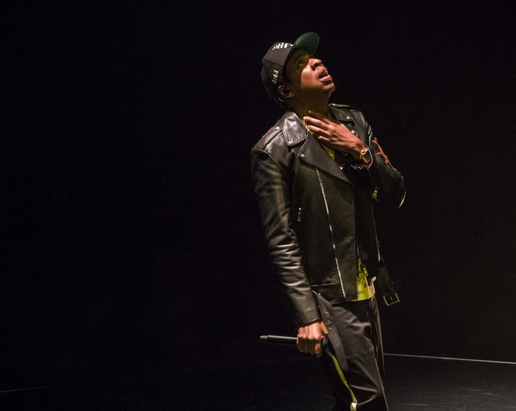 Jay-Z Live photo @ Rogers Arena in Vancouver
