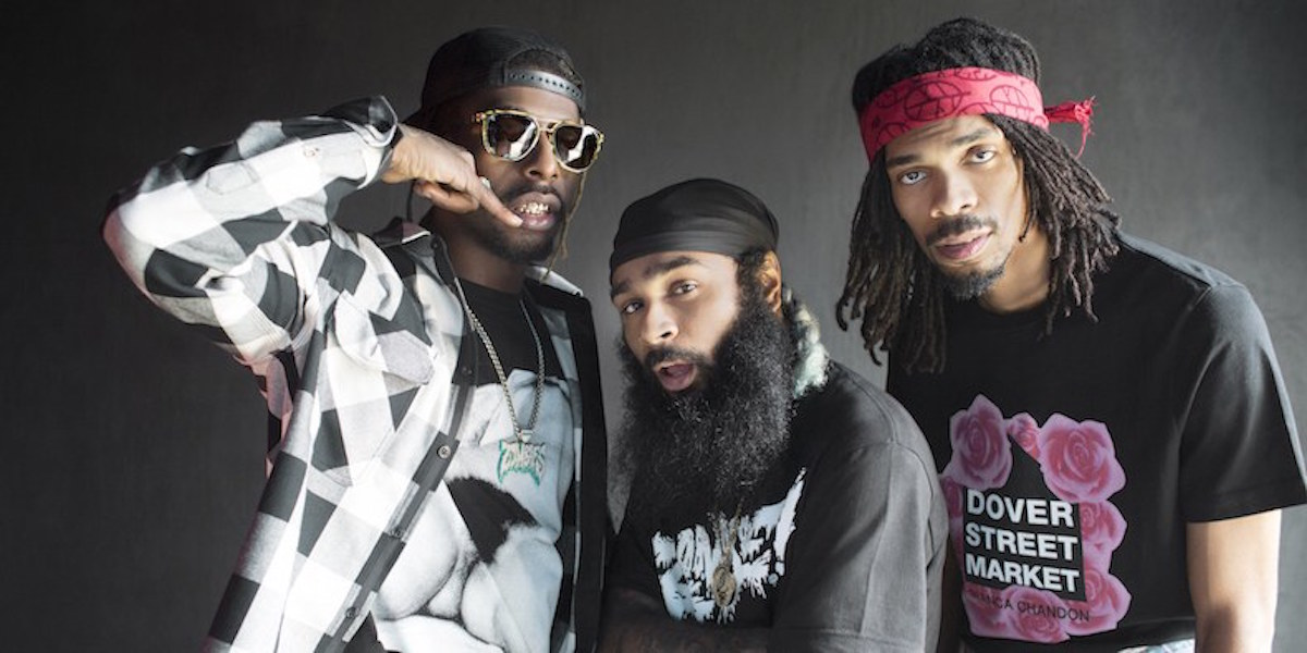 The Flatbush Zombies Invaded Vancouver For First Time In Four Years Friday Night Bringing With Them Magnetic Stage Show Three Piece Has Built