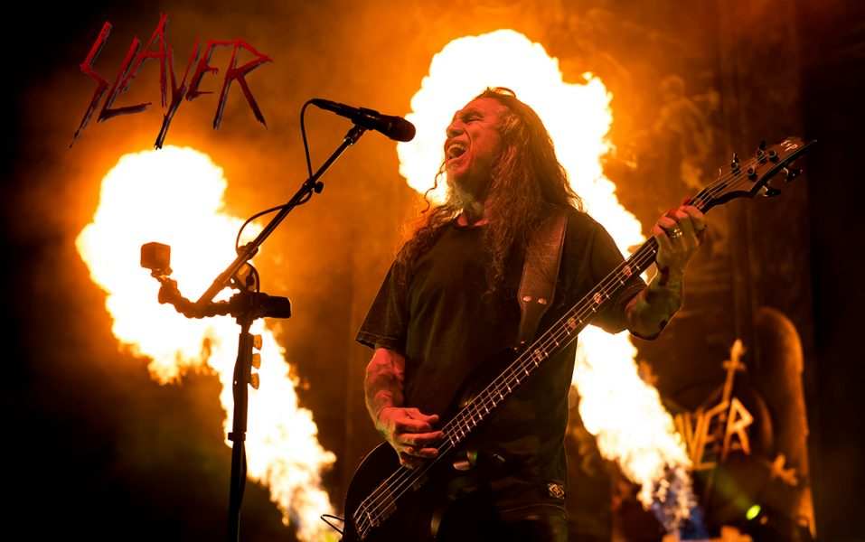 Slayer delivers monster performance for its farewell tour