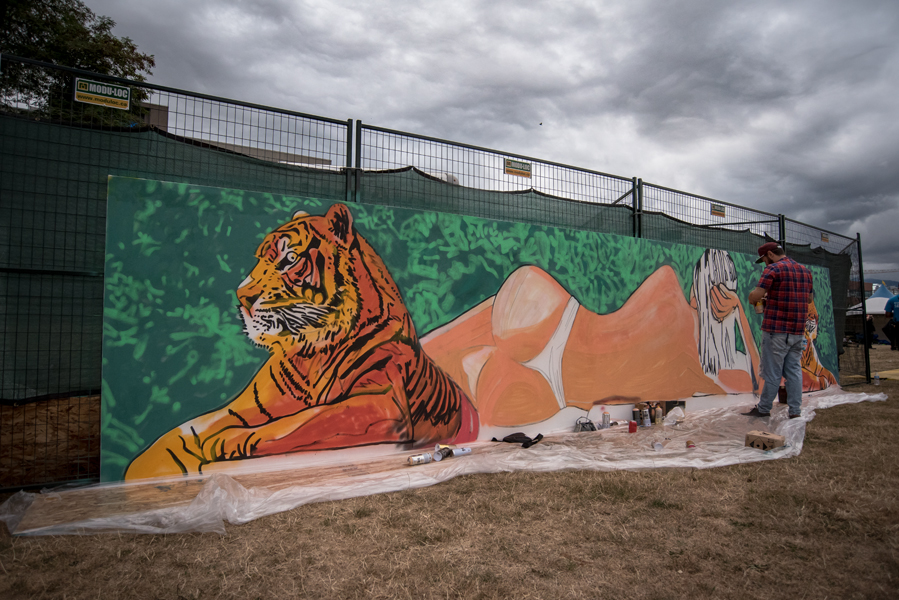 Mural Fest 2018 - The Park Show @ Jonathan Rogers Park in Vancouver B.C.