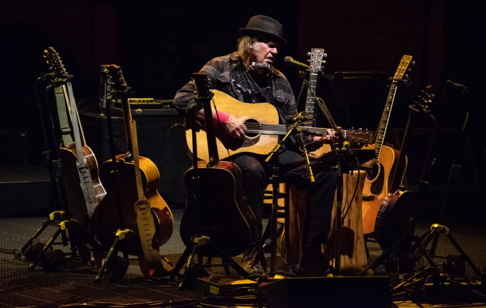 Neil Young brings laughter, then tears, and again laughter to Vancouver