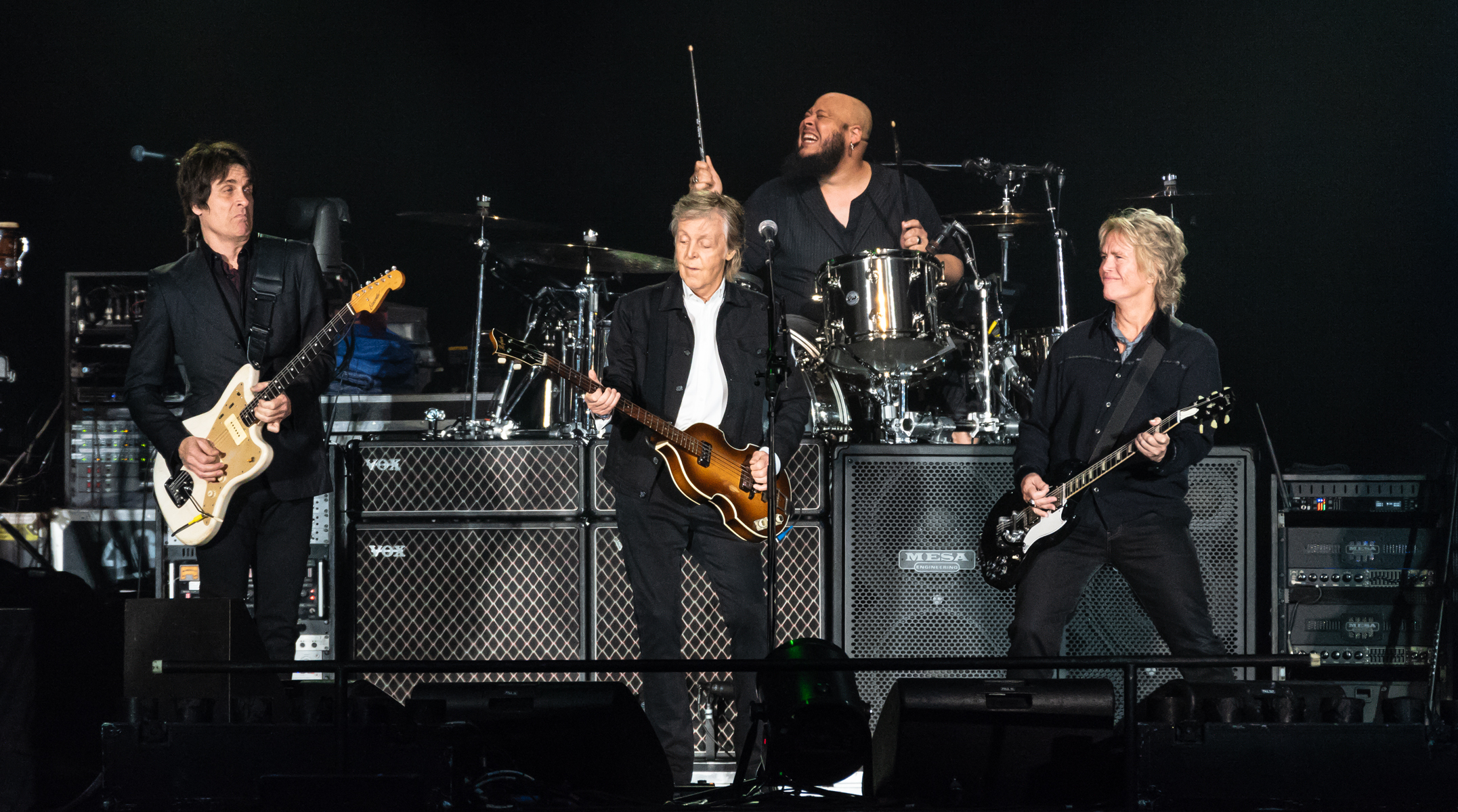 Paul McCartney brings a marathon evening of the 'old, new and inbetween' to BC Place