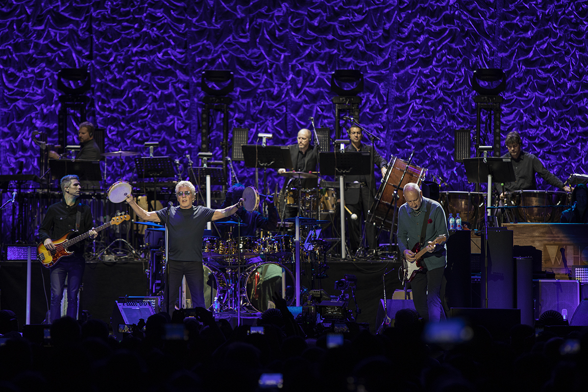 The Who Cause a Big Sensation with Symphonic Show