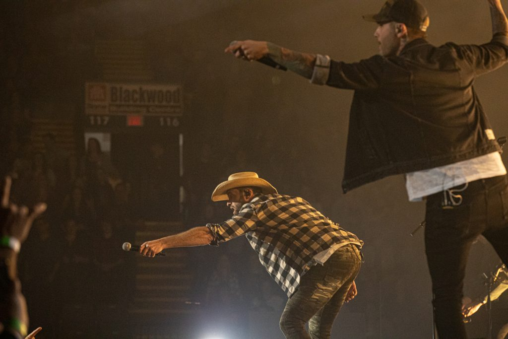 Dallas Smith and Dean Brody at the AEC on Oct. 26, 2019 by Tom Paillé-6087