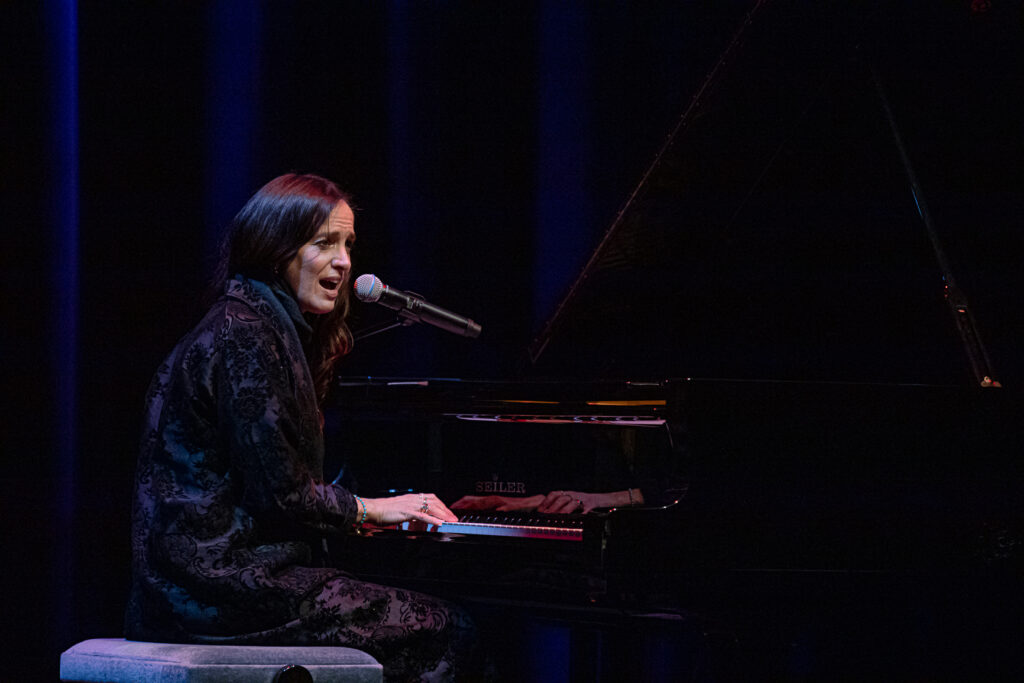 Chantal Kreviazuk at Massey Theatre on Oct. 28, 2020 by Tom Paillé-12