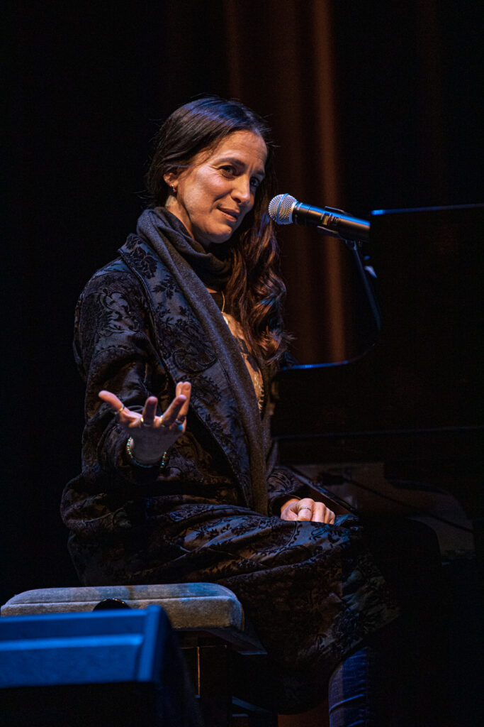 Chantal Kreviazuk at Massey Theatre on Oct. 28, 2020 by Tom Paillé-6