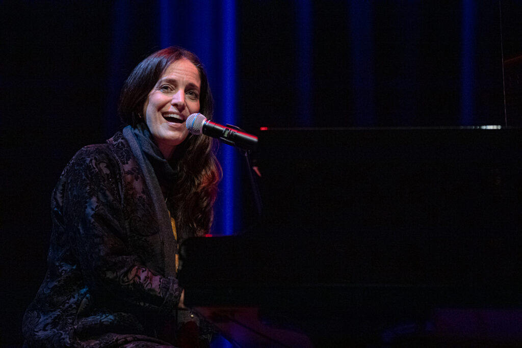 Chantal Kreviazuk at Massey Theatre on Oct. 28, 2020 by Tom Paillé-9